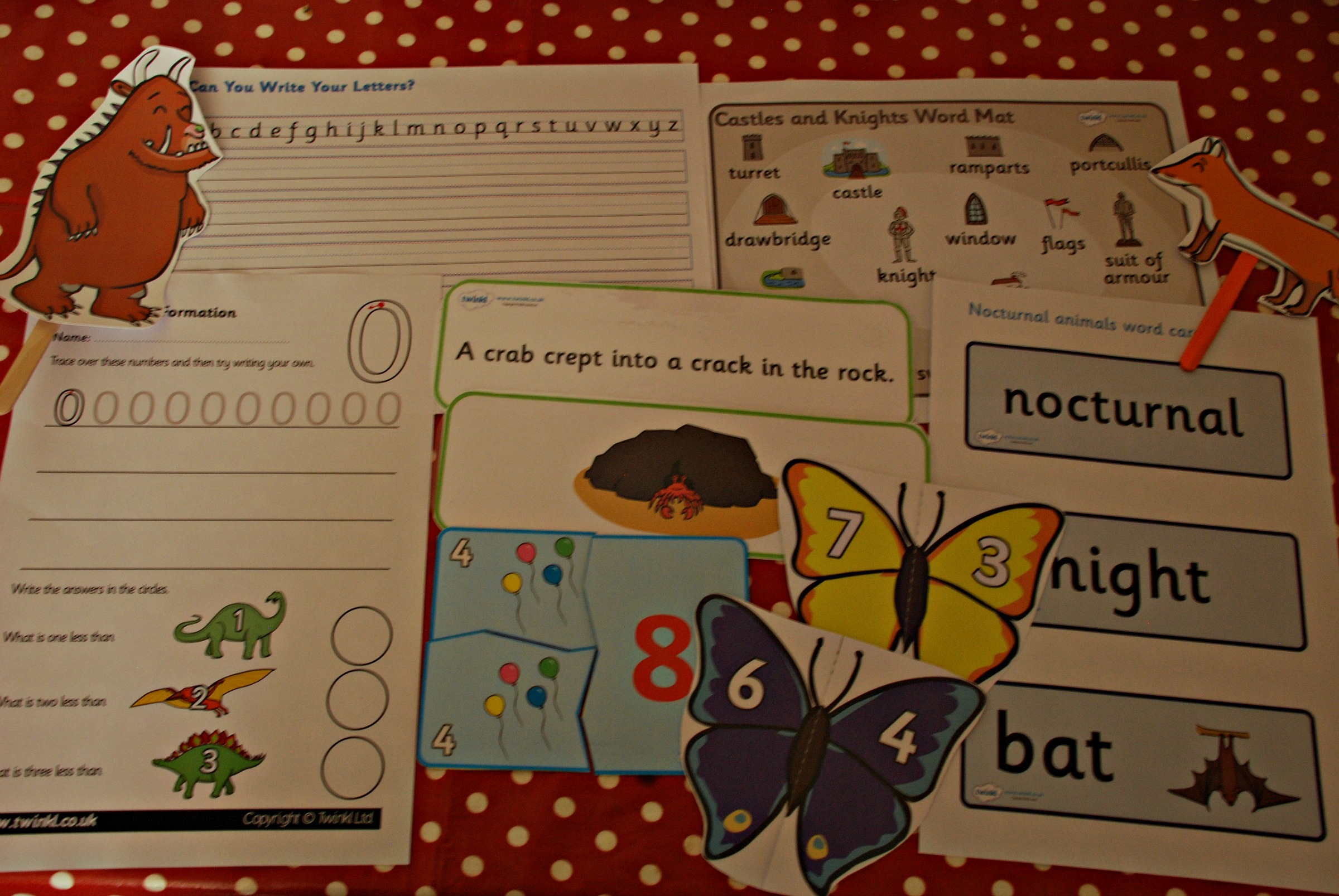 our favourite free resources from twinkl ofamily