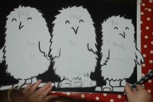 Owl babies poster
