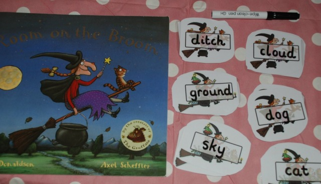 Room On The Broom And Rhyming Words Ofamily Learning Together