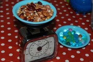 weighing 4