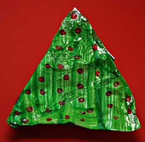 Tinfoil Christmas tree