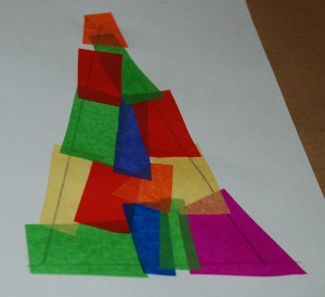 Tissue paper tree 1