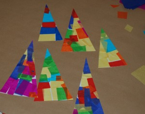 Tissue paper tree 3