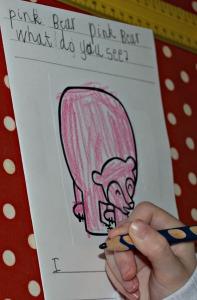 Brown bear Brown bear writing 2