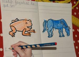 Brown bear brown bear writing 3