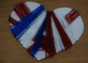 heart shape multicoloured