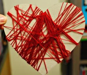 Heart weaving