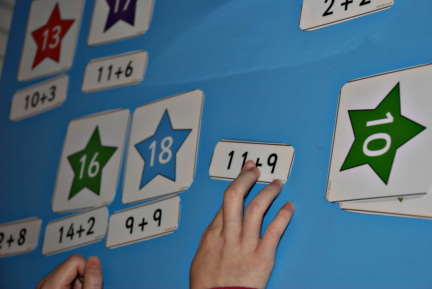 Matching stars maths activity | ofamily learning together
