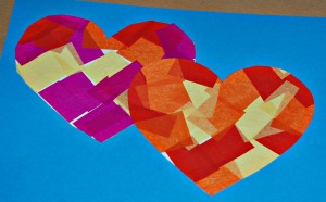 Tissue heart pictures