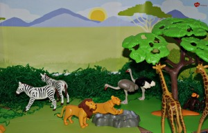 African animal small world