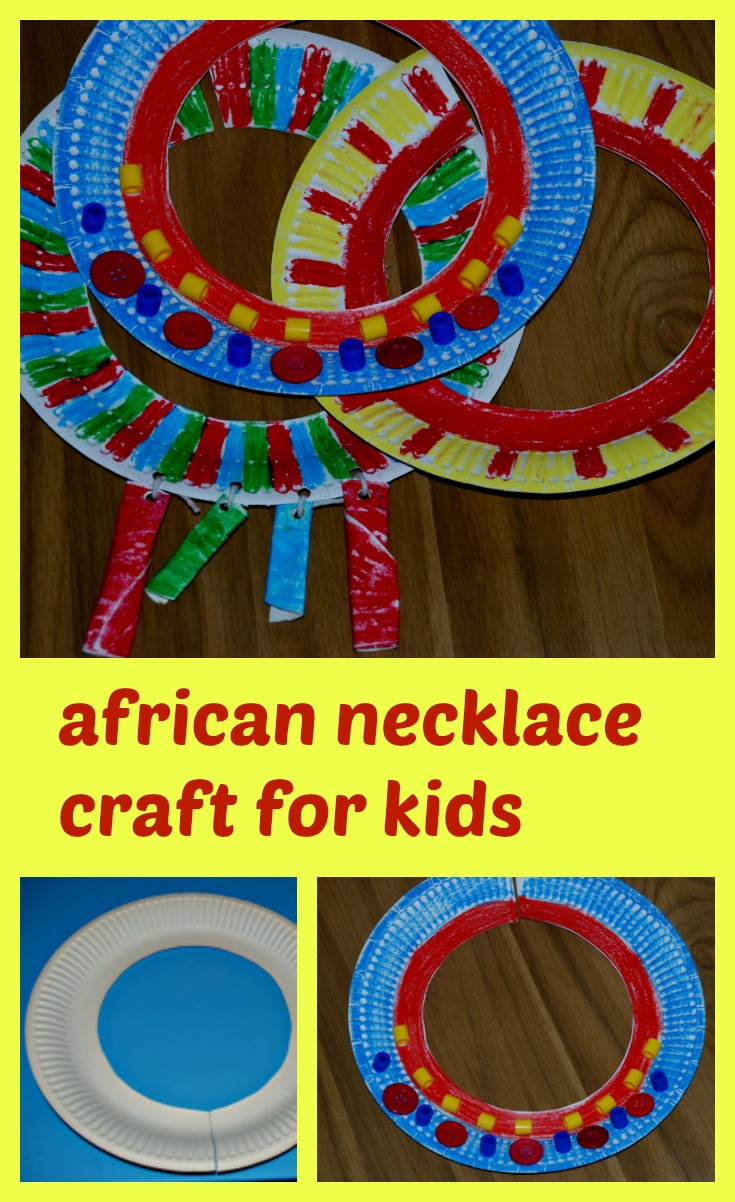 African necklace craft for kids ofamily learning together for Family arts and crafts