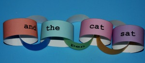 paper chain basic words