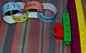 paper chain - place value 1