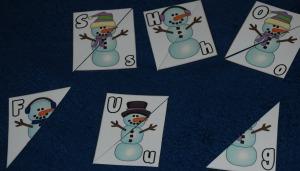 snowman matching
