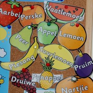Afrikaans fruit