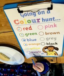 colour hunt coffee shop