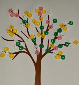 Spring tree buttons