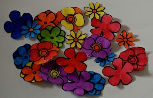 Twinkl flowers cut out