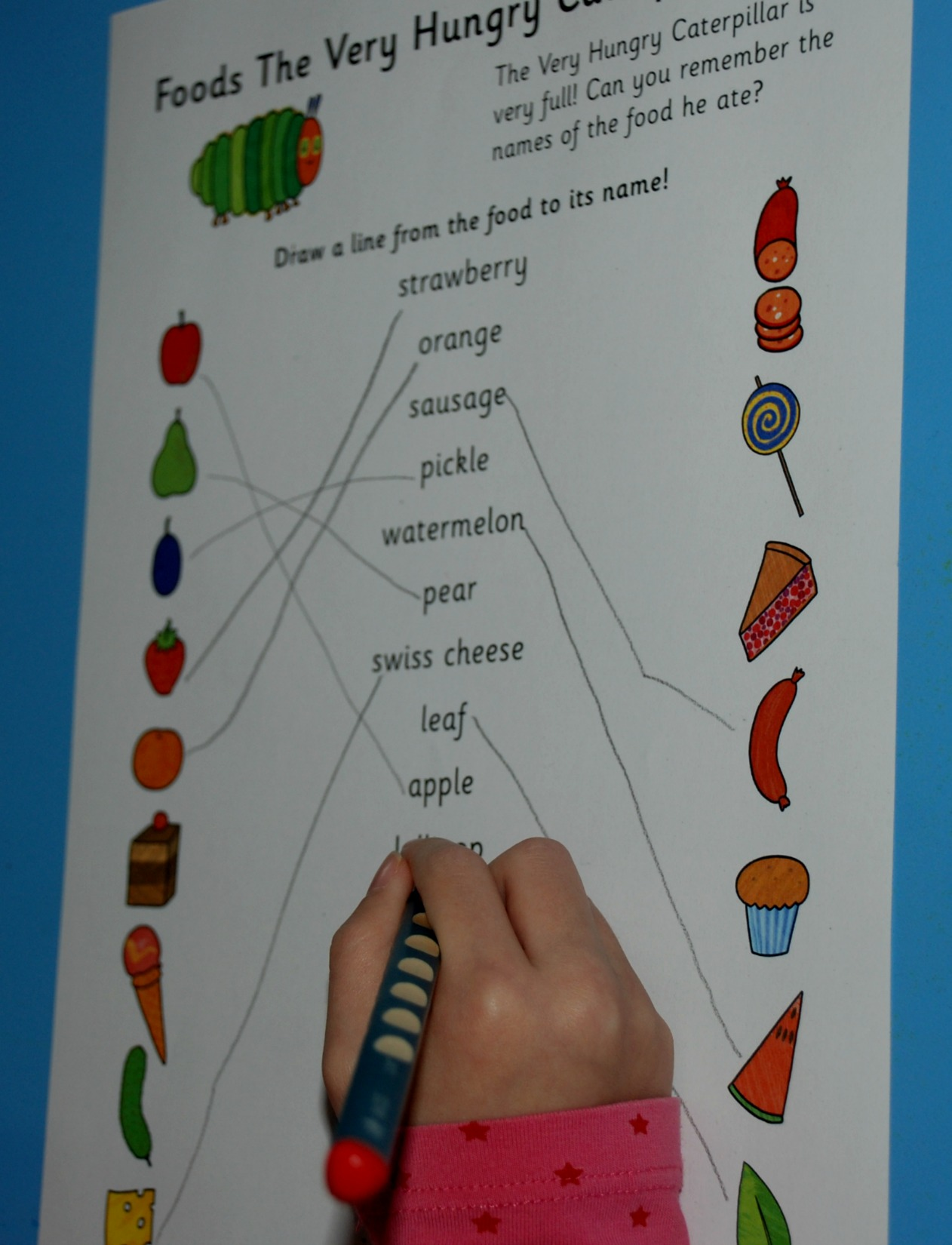 Magnificent Very Hungry Caterpillar Math Worksheets Image - Math ...