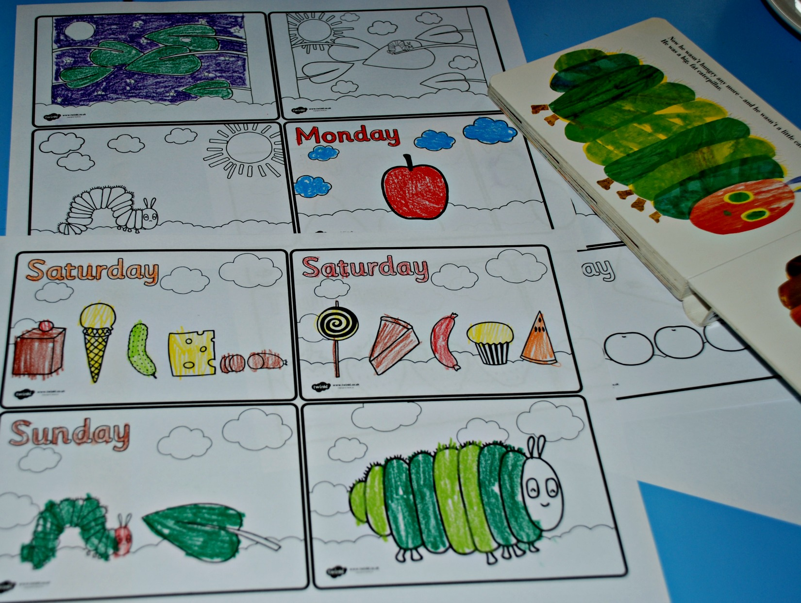 2017 05 the very hungry caterpillar lesson plans - The Very Hungry Caterpillar