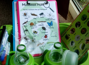 Lets go on a Minibeast hunt in the garden. perfect for the spring and summer months. found on ofamilyblog