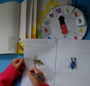 making our own bad-tempered ladybird book