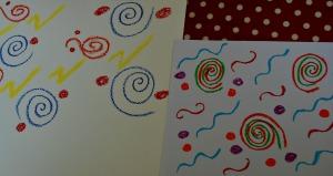 oil pastel patterns
