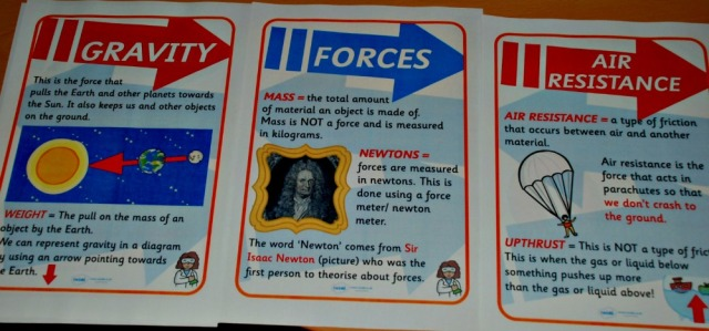 Science Resources. Types of Forces posters from Twinkl . Primary science learning aids