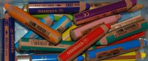 Stabilo woody pencils