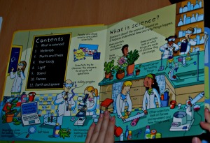 Usborne look inside Science - what is Science