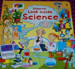 Usborne See Inside Science book cover