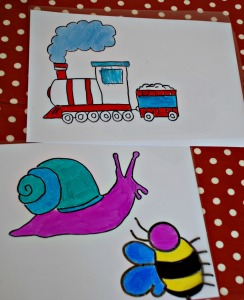 laminating pouch window art examples