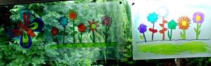 Laminating sleave window art ideas found on ofamilyblog