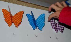 using the 3 D butterflies for repeated addition