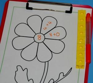 Flower number bond 8