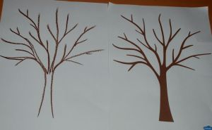 Tracing over the tree template