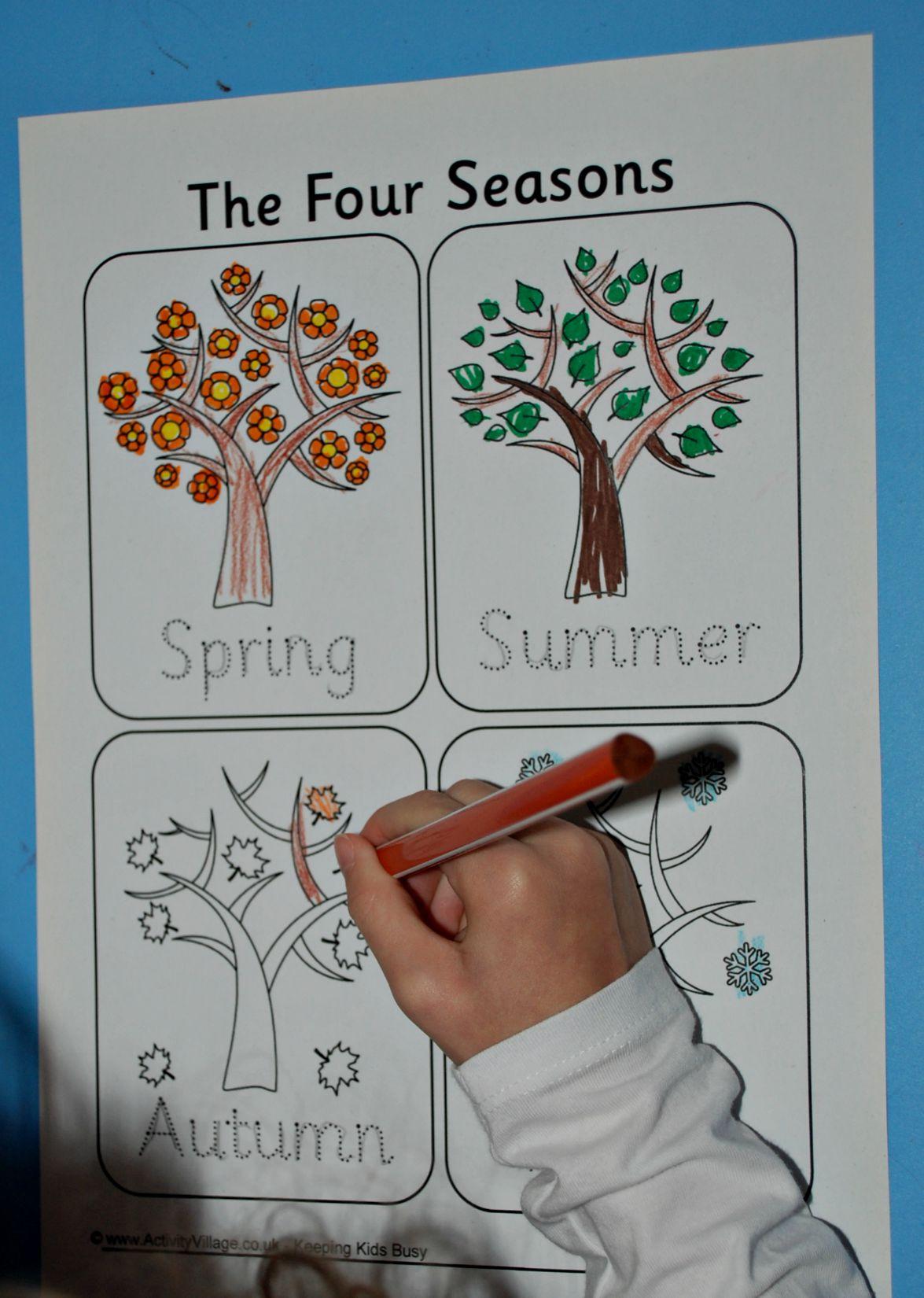 activity village coloring pages autumn - photo#34