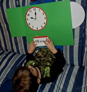 Basic time lapbook being used on ofamilyblog