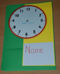 Basic time lapbook cover