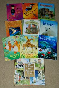 Children's books we use as readers on ofamilyblog