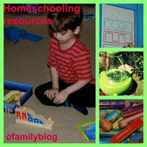 Homeschooling resources used by ofamilyblog