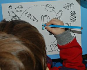 I spy alphabet pages from activity village can be used for a letter a week activity