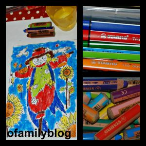 pens, pencils and felt tip pens used by ofamilyblog