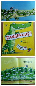 Dangerous book is a fun way of helping kids learn about Nouns and adjectives. Great illustrations and lots of fun examples