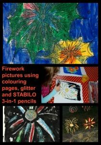 Firework pictures on ofamilyblog