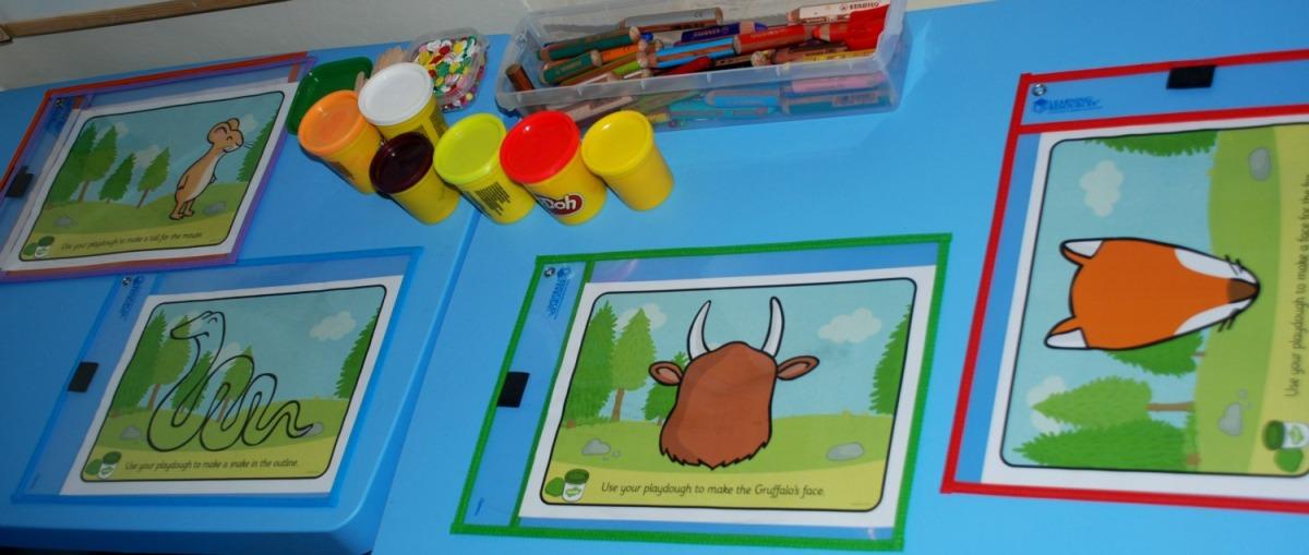Free Twinkl Playdough Mats