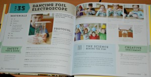Kitchen science book inside pages