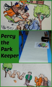 Percy the Park Keeper, get the kids to write their own version