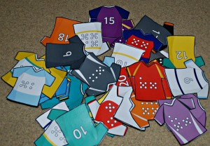 Rugby tops from Twinkl