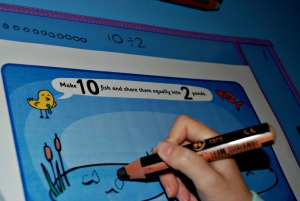 Using STABILO 3-in-1 pencils with the Write and Wipe pockets on ofamilyblog